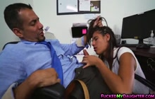 Victoria Valencia really gives a great blowjob
